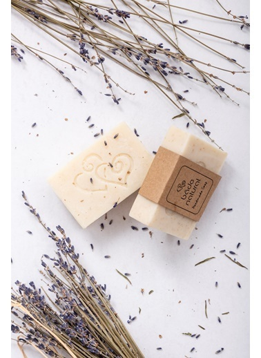 Bade Natural Lavantalı Besleyici Doğal Yüz Sabunu 100 g  Renksiz
